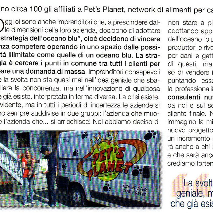 Sono circa 100 gli affiliati a Pet's Planet – AZ Franchising