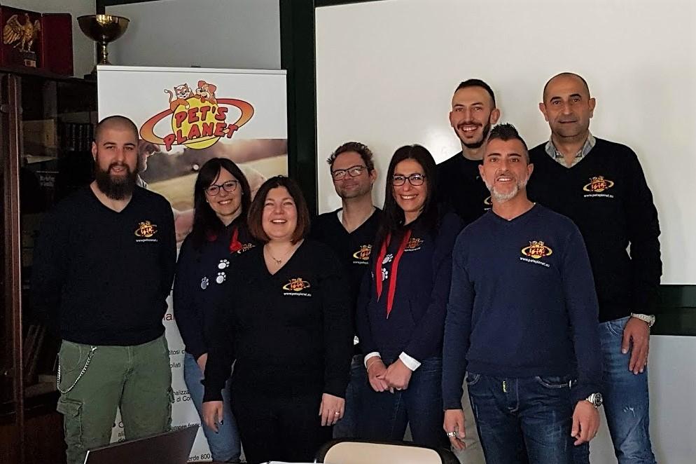 Conclusa la formazione iniziale per cinque nuovi affiliati Pet's Planet Italia